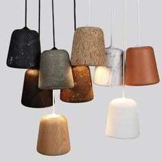 The Minimalist Home x Materials pendants by noergaard-kechayas