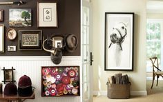 For the horse rider in the family. I love this display wall and how the ribbons are all framed together en mass - blog.hgtv.com