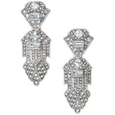 Stella & Dot Casablanca Chandeliers (£41) ❤ liked on Polyvore featuring jewelry, earrings, vintage art deco earrings, pave earrings, druzy stud earrings, stella dot earrings and drusy earrings
