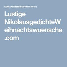 Lustige NikolausgedichteWeihnachtswuensche.com