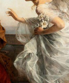 New Art Painting Renaissance Ideas Renaissance Kunst, Renaissance Paintings, Angel Aesthetic, Aesthetic Art, Hand Kunst, Aesthetic Painting, Old Paintings, Classic Paintings, Classical Art