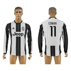 Juventus 16-17 #Coman 11 Hjemmebanetrøje Lange ærmer,245,14KR,shirtshopservice@gmail.com