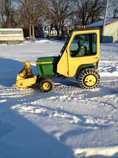 John deere 400 on craigslist tractors pinterest john - Craigslist michigan farm and garden ...
