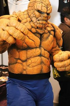 The Thing, Fantastic Four cosplay. Epic Cosplay, Male Cosplay, Amazing Cosplay, Funny Cosplay, Cool Costumes, Cosplay Costumes, Halloween Costumes, Halloween 2018, Costume Ideas