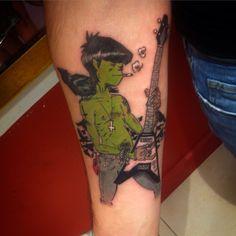 gorillaz tattoo