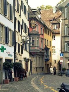 zurich, been there, but dont remember it being so pretty :)