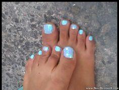 gorgeous toe nail design 0