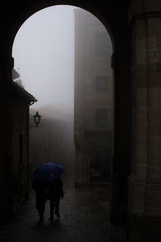 Rainy Day in San Marino ~ zϮ ~ Walking In The Rain, Singing In The Rain, Rainy Night, Rainy Days, I Love Rain, Sound Of Rain, Rain Drops, Beautiful World, Mists