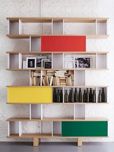 I have died and can be found in shelf heaven - might have to make this for myself  Designer: Bücherschrank von Charlotte Perriand / Cassina