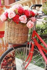 Resultado de imagem para bicicleta com flores