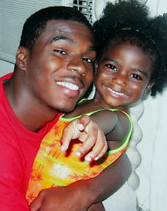 Sean Bell and his daughter Jordyn. He was shot and killed on his wedding day by police officers who were eventually acquitted of all charges. Rest in Paradise Sean Bell.