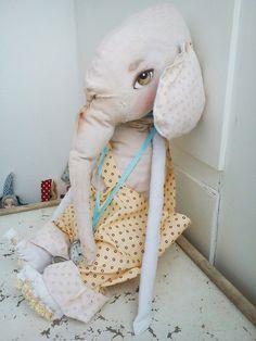 love it!!! vintage doll artist ElephantVintage Circus by LISIZA on Etsy, $39.00