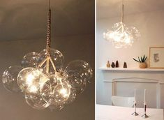 DIY Pelle Bubble Chandelier for only $75 instead of $750!!