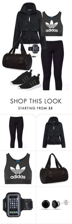 """""""Work It Out"""" by ccoss on Polyvore featuring Kosher Casual, adidas, adidas Originals, Sweaty Betty and Marika"""