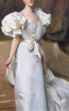 Portrait of Thérèse, countess Clary Aldringen John Singer Sargent, 1896 John Singer Sargent, Sargent Art, Belle Epoque, Giovanni Boldini, Fashion Painting, Kaiser, American Artists, Fashion History, Oeuvre D'art