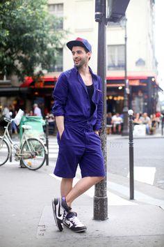 Garconjon: Mihail: Rue de Bretagne, Paris