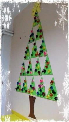 Preschool Christmas Crafts, Christmas Arts And Crafts, Winter Crafts For Kids, Christmas Activities, Christmas Projects, Christmas Themes, Holiday Crafts, Christmas Decorations, Toddler Christmas
