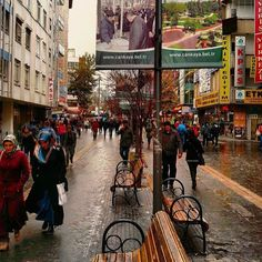 Karanfil Sokak @Ankara Tebrikler! Fotoğraf Sahibi:... Ankara, Middle East, Istanbul, Skyline, Street View, City, Places, Photography, Window
