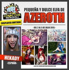 Hekady cosplay en #MGCC15