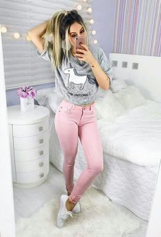 Outfit with garments of adidasoficial Tumblr Fashion, Girl Fashion, Fashion Outfits, Womens Fashion, Summer Outfits, Casual Outfits, Cute Outfits, Mein Style, Look Chic