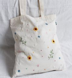 # unique # hand embroidered # jute bags jute bags hand embroidered flowers … F ck! Negative Space Modern Embroidery Kit by EllucyStitches on Etsy Embroidery On Clothes, Embroidery Bags, Couture Embroidery, Embroidered Clothes, Hand Embroidery Patterns, Embroidered Flowers, Floral Embroidery, Modern Embroidery, Japanese Embroidery