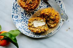 Herbed sweet potato & quinoa muffins