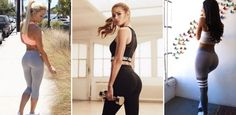 Immer mehr Frauen squatten oder heben Gewichte, was das Zeug hält. Weshalb? Für einen knackigen und festen Po à la Pamela Reif oder Jen Selter...