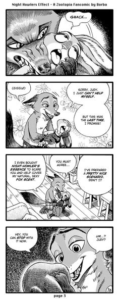 Comic: The Night Howlers Effect (by Borba) [FULL COMIC] - Zootopia News Network