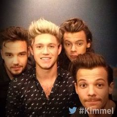 Jimmy Kimmel Live! | One Direction | 11/18/15