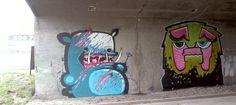 East Side Street Art Białystok, Poland 2013 Kiwie/MUR crew