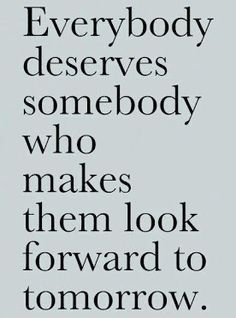 Everyone deserves...