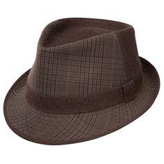0d3b6cf9f4d9 Dobbs - Olive Plaid Dress Hat Mens Dress Hats