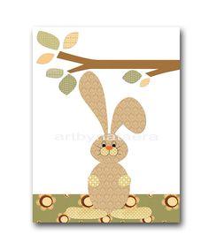 Hare Digital Download Print Instant Download Art Digital Baby Nursery Decor Baby Boy Nursery Decor Download Digital Art Download 8x10 11X14 by nataeradownload on Etsy