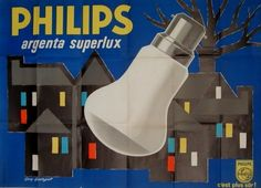 Philips Argenta Superluxe poster by Georget Guy