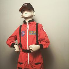 #feefifofuncostumes #canada #costumeoftheday  #8 @aeromaxtoys fantastic ripstop nylon #astronaut jumpsuit in orange or white comes with a cap. Heck I'm so #space crazy I even sew on a Canadian flag patch for no extra charge.
