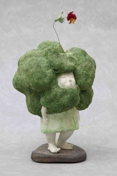 Kate Afonina gallery  Kim Myung Joo   Le printemps du Brocoli.