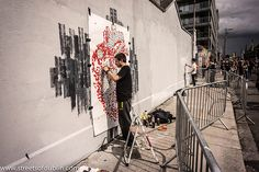 Street Art At Hanover Quay - Kings Of Concrete 2012.