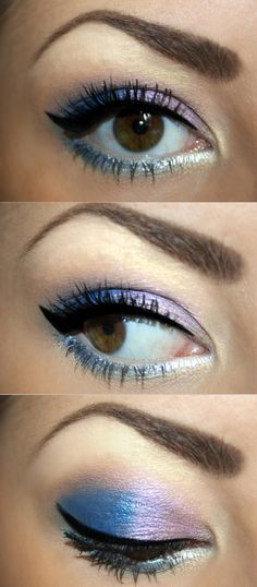 These Violet Eyes for #prom are stunning and high-pigment, but not overwhelming. Try them!