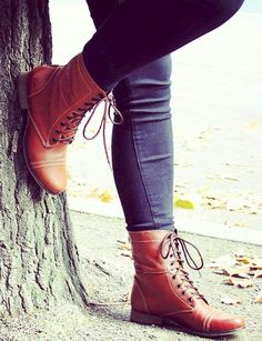 Nordstrom Heels - Lace up boots Nordstrom Rack Crazy Shoes, Me Too Shoes, Spring Fashion, Autumn Fashion, Lace Up Boots, Ankle Boots, Sock Shoes, Swagg, Passion For Fashion