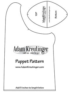 I'm reading puppet pattern - kreutinger on Scribd