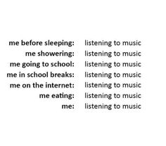 Don't judge me, man. Music helps.