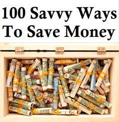 100 Savvy Ways To Save Money – Frugal Tips » The Homestead Survival#.UeN8vFfHa3g Saving Ideas, Money Saving Tips, Money Tips, Managing Money, Ways To Save Money, How To Make Money, My Money, Money Plan, Cash Money