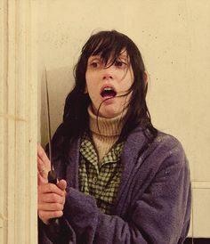 """Shelley Duvall in """"The Shining"""" (Stanley Kubrick, dir) Scary Movies, Horror Movies, Good Movies, Horror Movie Costumes, Stanley Kubrick, Doctor Sleep, Movie Shots, Vintage Horror, Iconic Movies"""