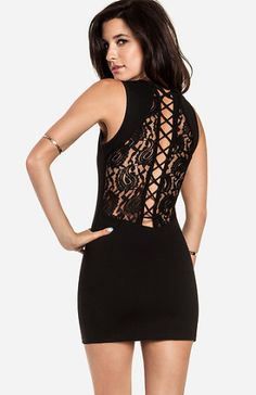 Back Detail Dress
