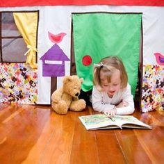 Cabane sous une table : 15 idées maison !