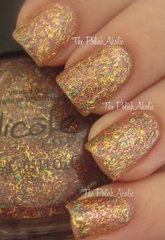 Nicole by OPI - A Gold Winter's Night