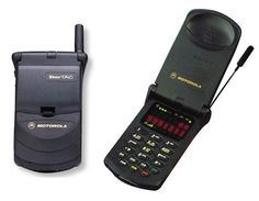 It took 10 years for the first cell phone, the Motorola DynaTAC 8000X, to hit stores. Description from globalgrind.com. I searched for this on bing.com/images