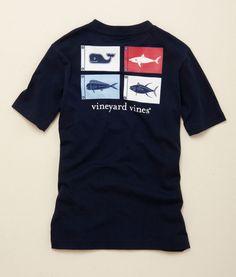 d22472459 Fish Burgee Graphic Pocket T-Shirt Polo Tees, Polo Shirt, Boys T Shirts