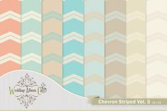 Check out Chevron Digital Backgrounds by Wedding Album Cafe on Creative Market