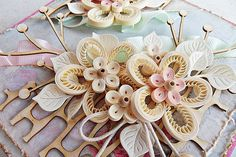 Quilling - Up turns: quilling